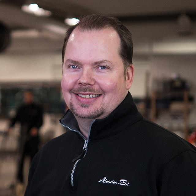 Per Sjöling - Alanders bil i Östersund