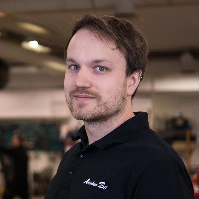 Tobias Nordin - Alanders bil i Östersund